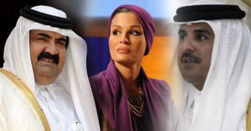 """انتشار عسكري في العاصمة القطرية.. و""""موزة"""" تدرس الإطاحة بـ """"تميم"""" لإنقاذ الأسرة الحاكمة ..فيديو"""