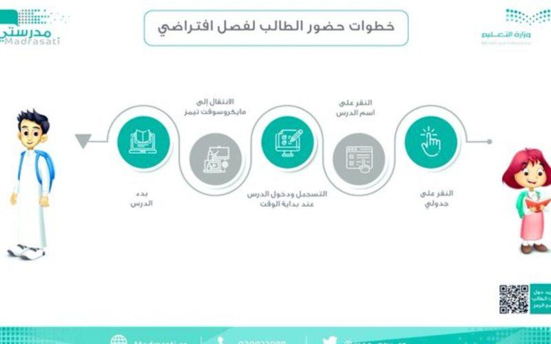 رابط منصة مدرستي السعودية وخطوات تسجيل الحضور للطالب