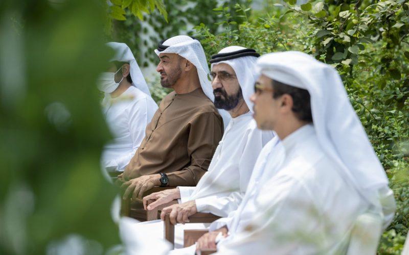محمد بن زايد يستقبل شقيقه محمد بن راشد ويستعرضان الدورة الجديدة للمشاريع الاستراتيجية الوطنية